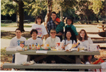 First David Kingsley lab Picnic in 1992