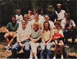 David Kingsley's Lab Picnic at Foothill Park in 1995.