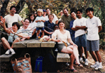 David Kingsley's Lab Picnic at Foothill Park in 1996.