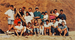 David Kingsley's Lab Picnic at San Gregorio Beach in 1997.