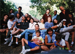 David Kingsley's Lab Outing in Berkeley Arboretum in 2000.