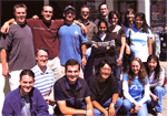 David Kingsley's lab outing for pizza and reptiles in Berkeley in 2004.