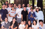 David Kingsley's lab picnic at Foothill Park in 2005.