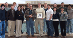 David Kingsley Lab photo at the Stanford Medical Center in 2008.